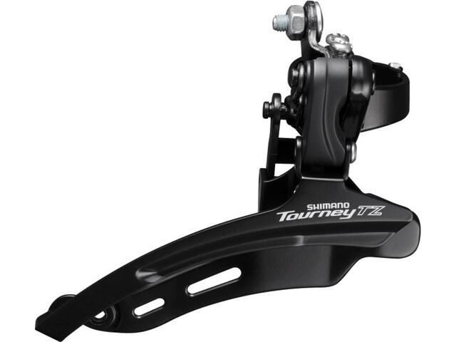 Shimano Tourney TZ FD-TZ510 Forskifter 3x6/7-speed Down Swing klemme høj sort (2019) | Front derailleur